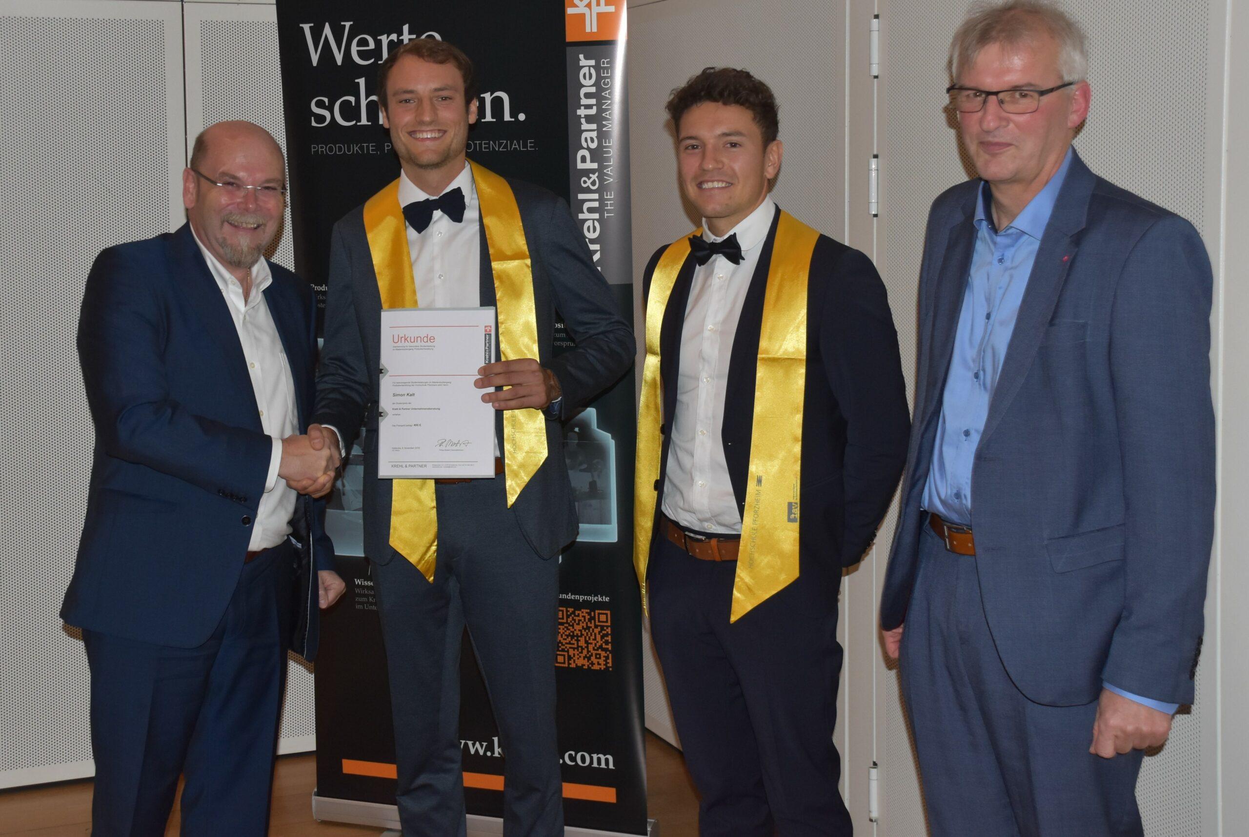 Absolventenverabschiedung und Krehl & Partner-Preis